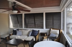 Aluminum Bahama Shutters are a clever, effective option for your windows, storefronts, patios, porches, glass doors, and decks. They bring you classic style with modern durability; a popular and lightweight choice.