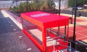 Custom Canvas Works can create custom enclosures that offer practical yet inviting solutions.