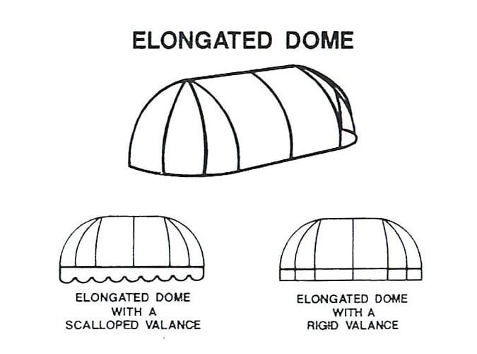 Elongated Dome